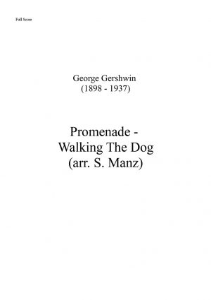 Promenade (Walking The Dog) - Final